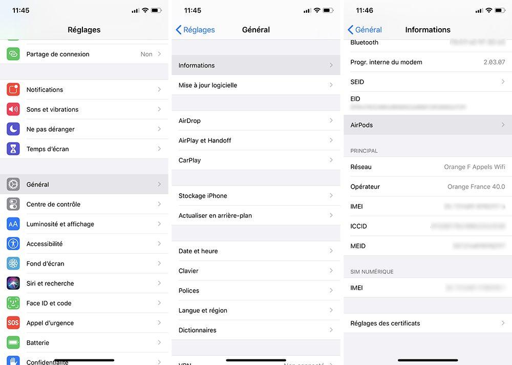 iphone airpods Désactiver la mise à jour automatique sur votre Mac, iPhone, Apple Watch, Apple TV et HomePod