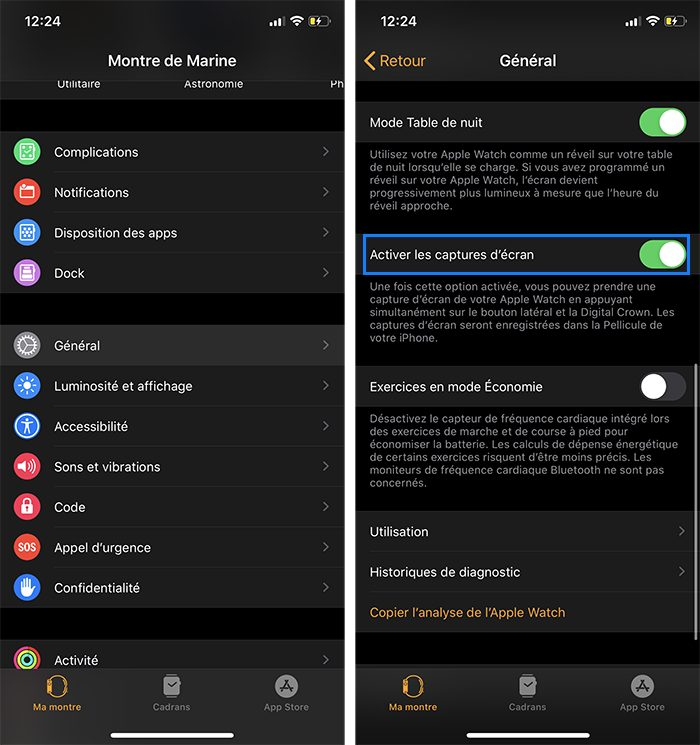 iphone apple watch capture ecran active Comment faire une capture décran sur iPhone, Mac, Apple Watch, Apple TV