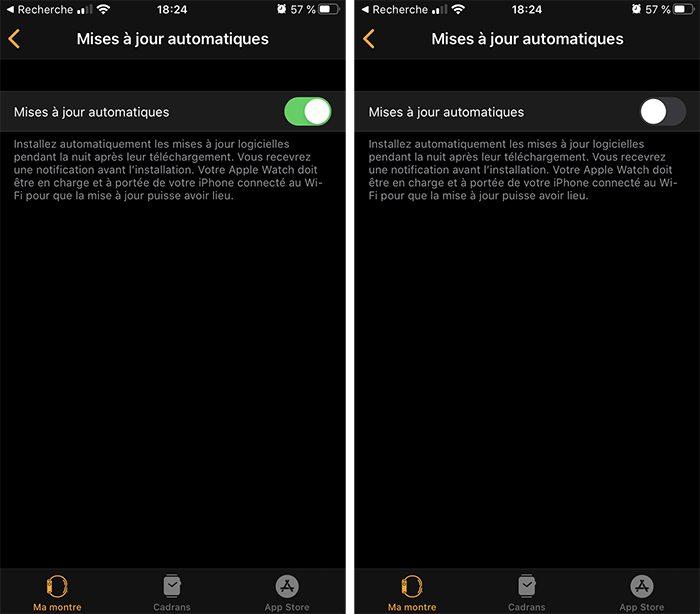 iphone apple watch maj auto Désactiver la mise à jour automatique sur votre Mac, iPhone, Apple Watch, Apple TV et HomePod
