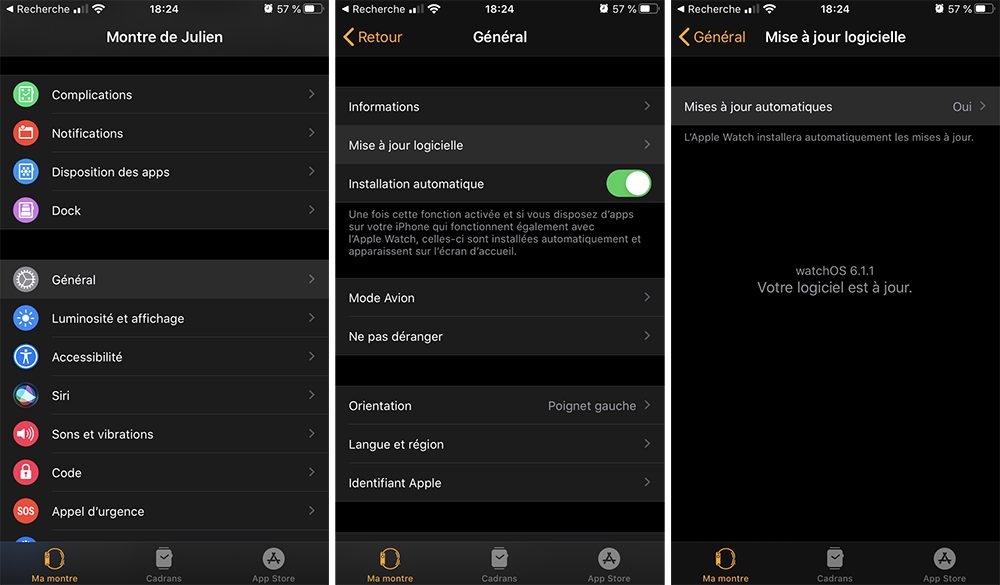 iphone apple watch maj Désactiver la mise à jour automatique sur votre Mac, iPhone, Apple Watch, Apple TV et HomePod