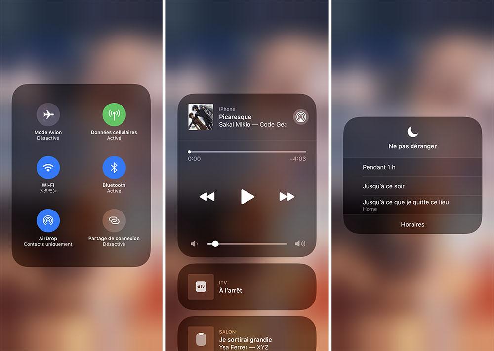 iphone centre controle commandes supplementaires Utiliser et personnaliser le centre de contrôle sur son iPhone, iPad et Apple Watch