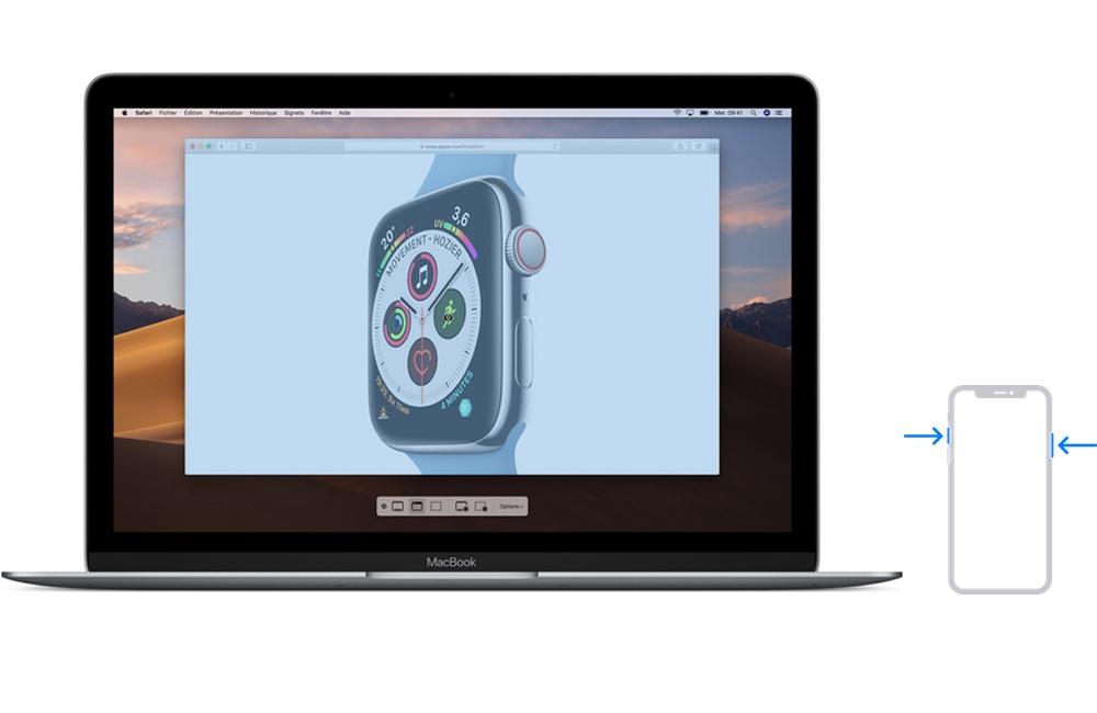 iphone mac capture ecran Comment faire une capture décran sur iPhone, Mac, Apple Watch, Apple TV