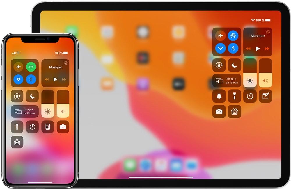 iphone mac centre controle Utiliser et personnaliser le centre de contrôle sur son iPhone, iPad et Apple Watch