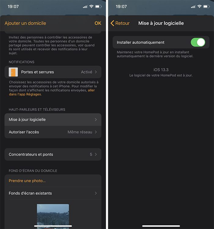 iphone maj homepod Désactiver la mise à jour automatique sur votre Mac, iPhone, Apple Watch, Apple TV et HomePod