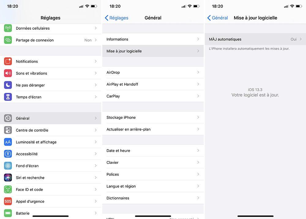 iphone maj Désactiver la mise à jour automatique sur votre Mac, iPhone, Apple Watch, Apple TV et HomePod