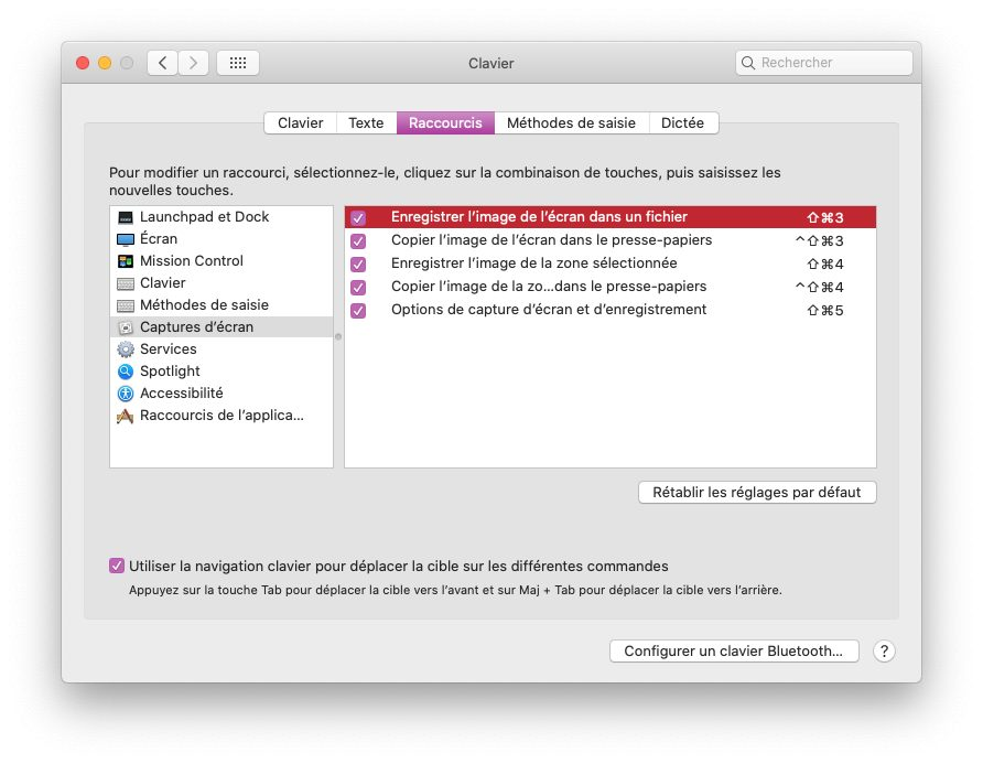 mac capture ecran raccourcis clavier Comment faire une capture décran sur iPhone, Mac, Apple Watch, Apple TV