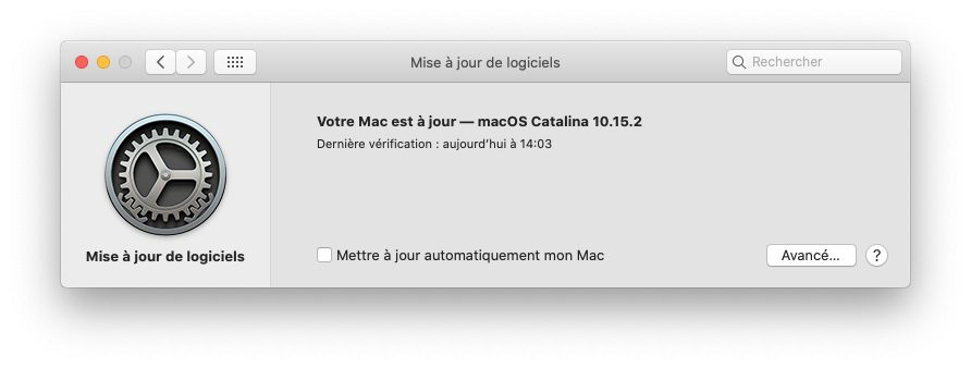 mac desactiver maj auto Désactiver la mise à jour automatique sur votre Mac, iPhone, Apple Watch, Apple TV et HomePod
