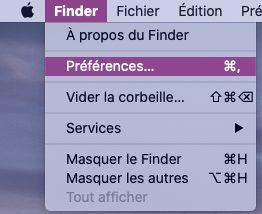 mac finder preferences Comment trouver l'iPhone avec macOS Catalina pour synchroniser et sauvegarder