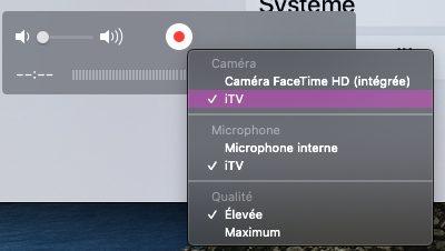mac quicktime apple tv Comment faire une capture décran sur iPhone, Mac, Apple Watch, Apple TV