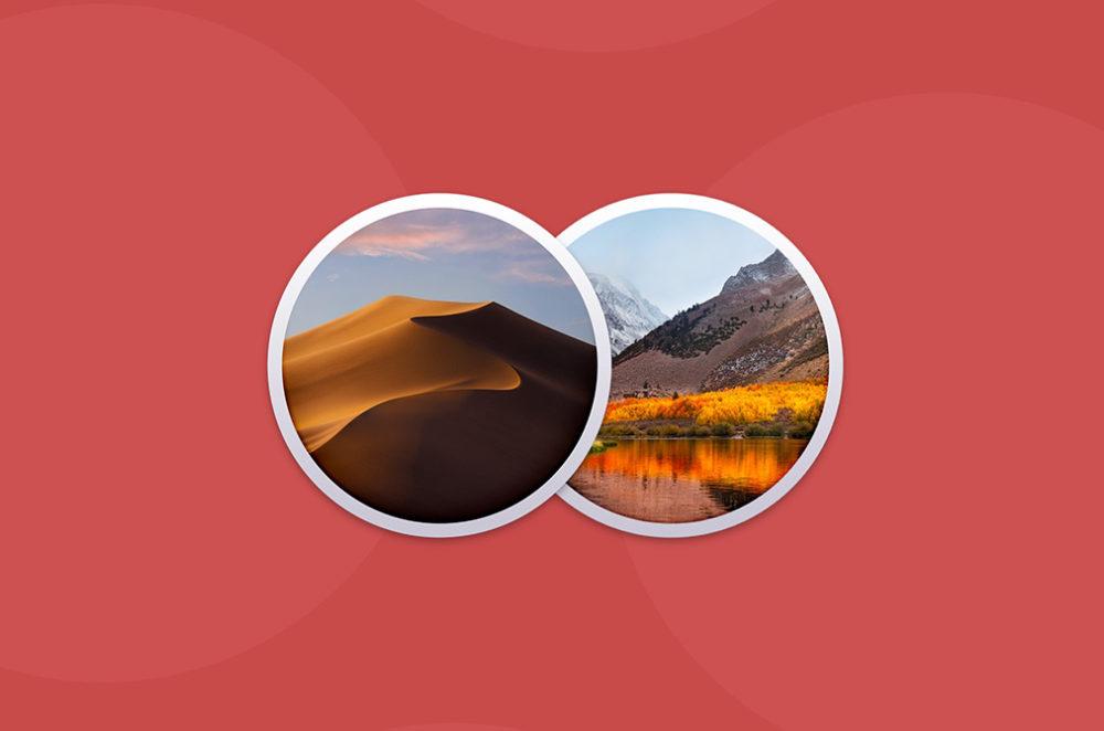 macOS Mojave macOS High Sierra Apple publie de nouvelles mises à jour de sécurité pour macOS High Sierra et Mojave