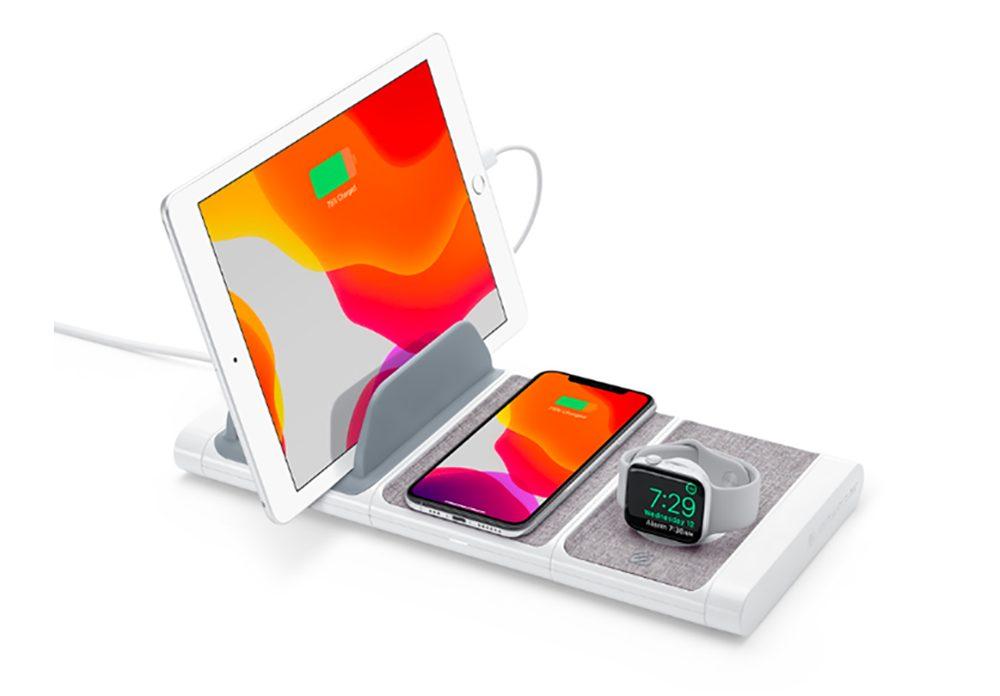 BaseLynx de Scosche 1 Apple vend la borne de recharge BaseLynx de Scosche sur lApple Store en ligne et physique
