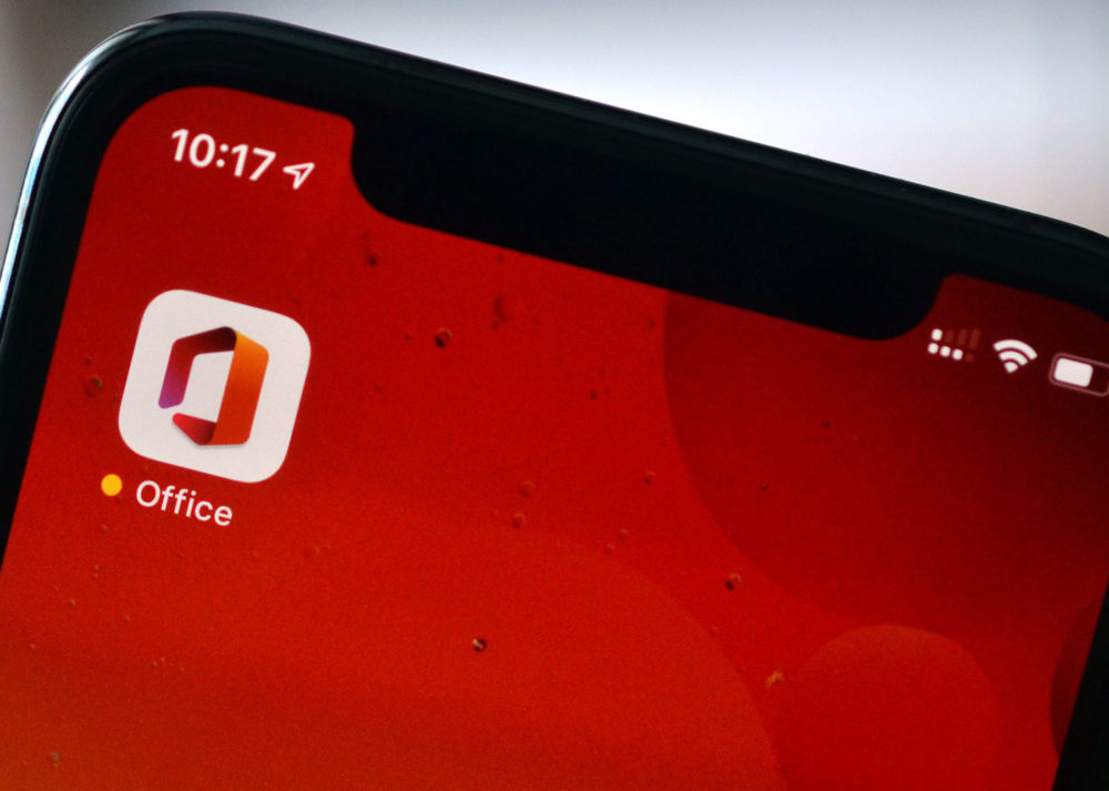 Microsoft Office Sur iPhone Microsoft Office, lapplication qui combine Word, Excel et PowerPoint est disponible sur iPhone