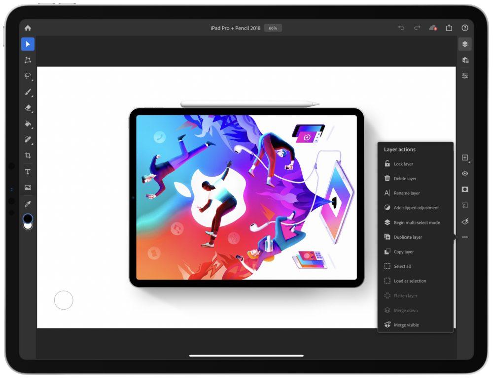 Photoshop fête ses 30 ans, une mise à jour de lapplication est disponible sur iPad
