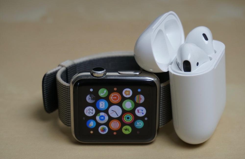 airpods apple watch Apple déplace certaines chaînes de production en Taïwan