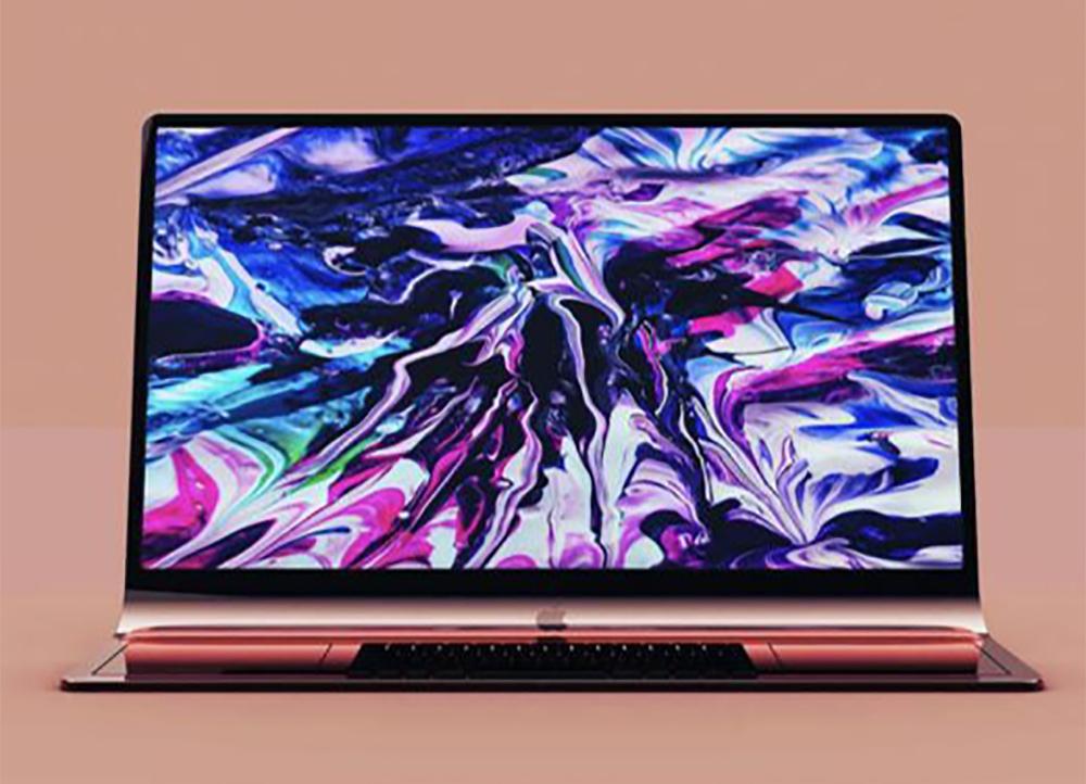 iMac incurve Concept 3D Le concept iMac incurvé dont montre le brevet dApple est proposé en rendus 3D