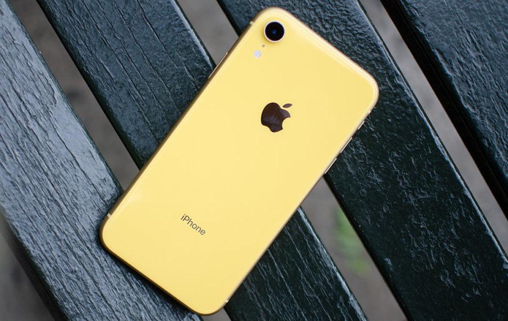 iPhone XR Jaune Une étude indique que liPhone XR a été le smartphone le plus vendu au monde en 2019