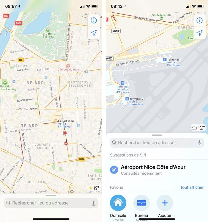 iphone plans voir interieur Plans avance doucement dans les plans intérieurs en France