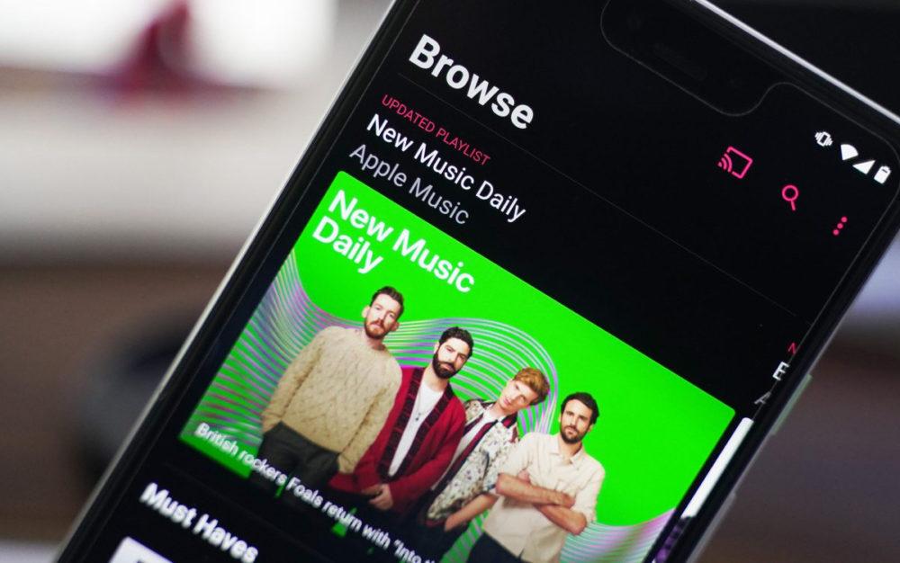 Apple Music Android Shazam sur Android ajoute lintégration dApple Music