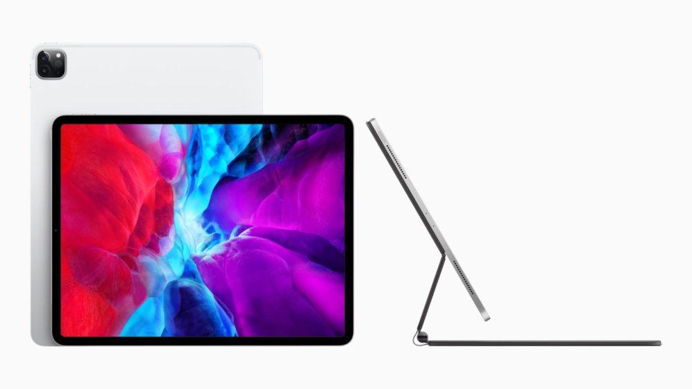 Apple Nouvel iPad Pro Magic Keyboard Apple dévoile un nouvel iPad Pro avec un Magic Keyboard doté dun trackpad