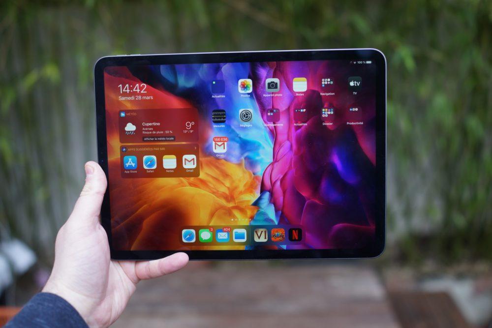 Apple iPad Pro 2020 1 2 Le nouvel iPad Pro de 12,9 pouces sera un poil plus épais pour accueillir lécran mini LED