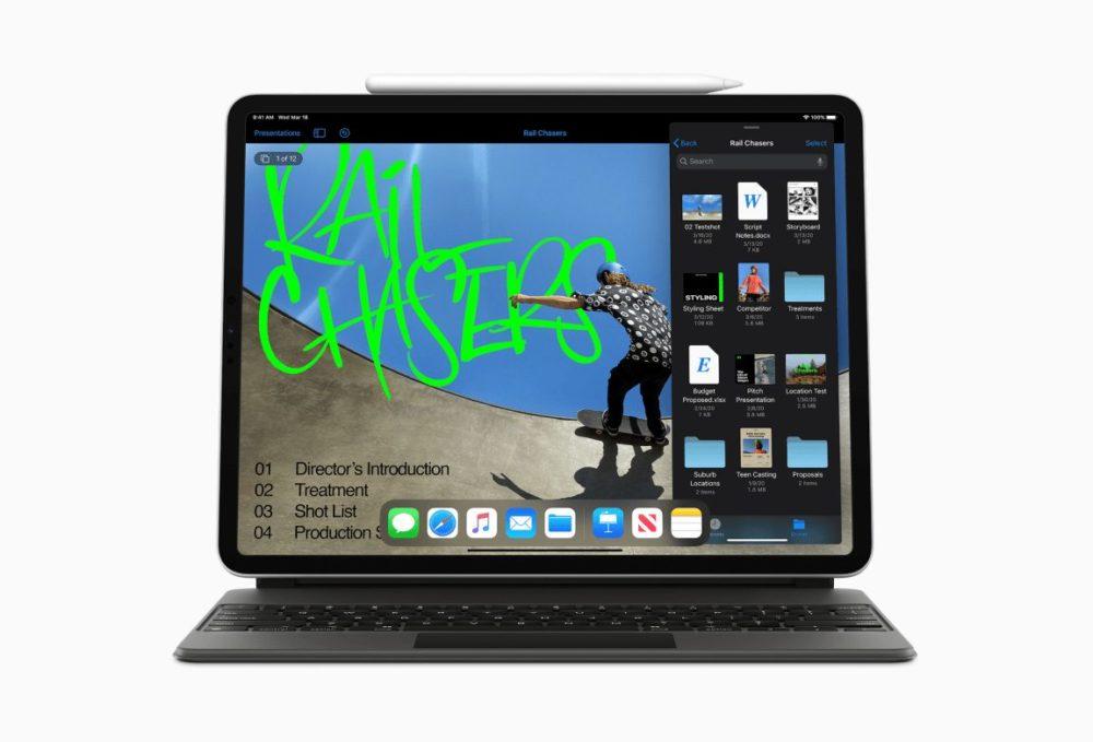 Apple iPad Pro 2020 Les applications Pages, Keynote et Numbers seront mises à jour pour le nouvel iPad Pro