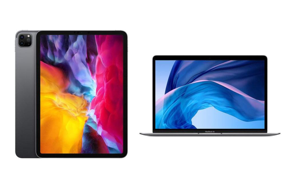 MacBook Air 2020 iPad Pro 2020 Apple lève les limites dachat sur liPhone, liPad Pro et le Mac