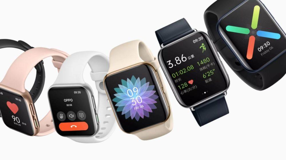 OPPO Watch 1 OPPO dévoile sa montre connectée ; vous pourrez la confondre avec une Apple Watch