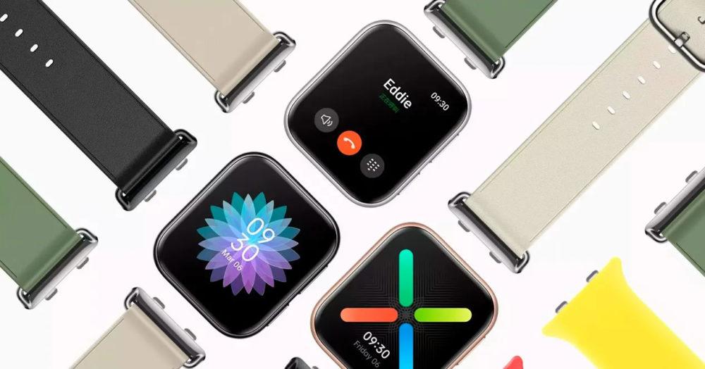 OPPO Watch 2 OPPO dévoile sa montre connectée ; vous pourrez la confondre avec une Apple Watch