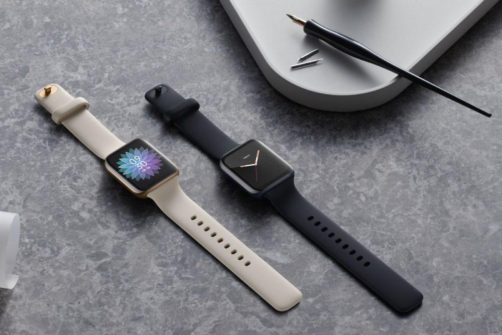 OPPO Watch OPPO dévoile sa montre connectée ; vous pourrez la confondre avec une Apple Watch