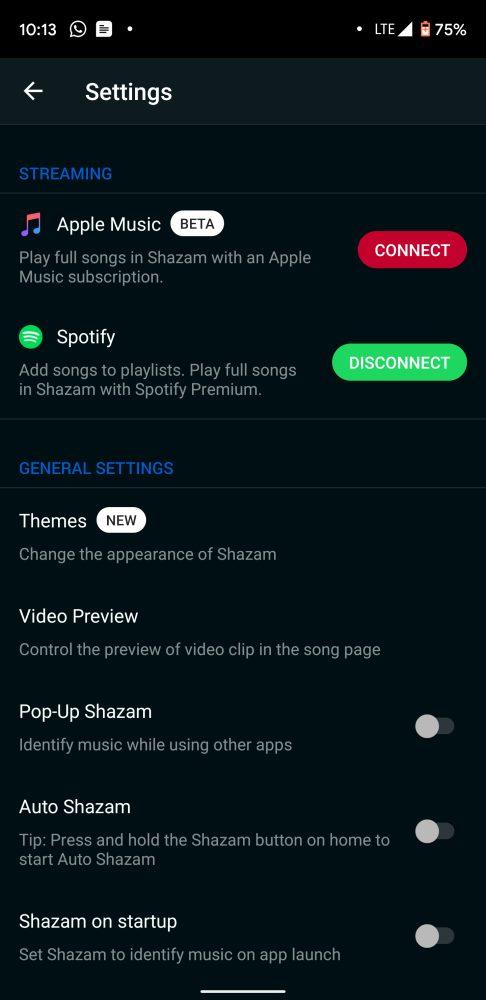 Shazam Android Apple Music Shazam sur Android ajoute lintégration dApple Music