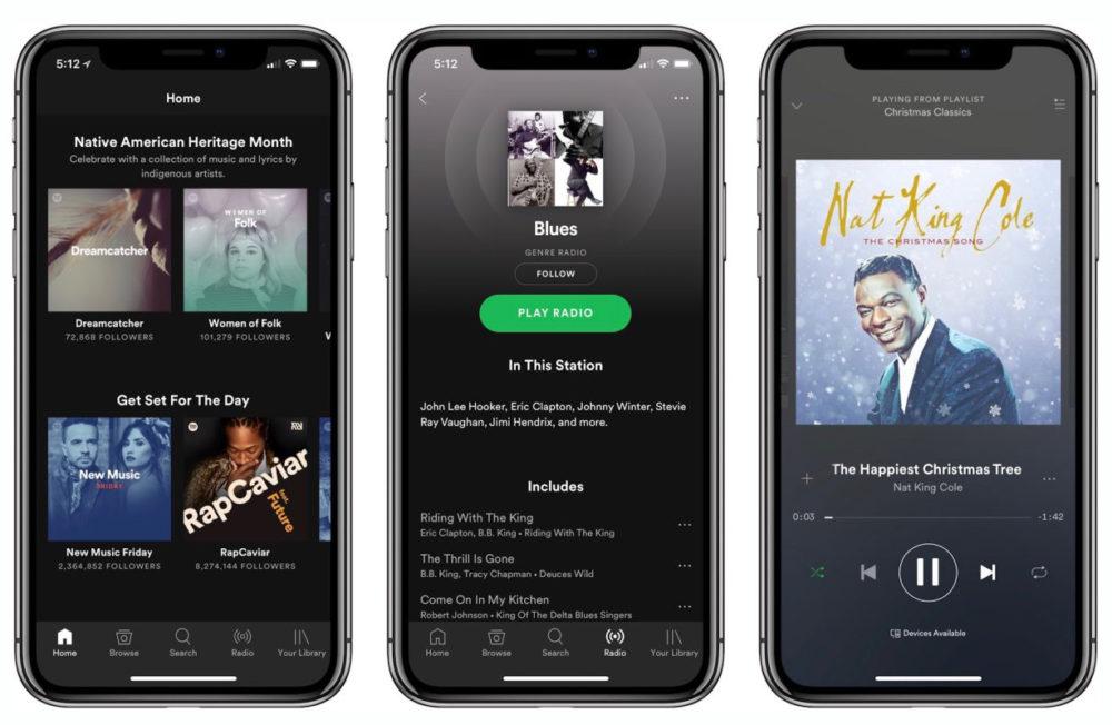 Spotify iPhone Spotify sur iPhone va proposer un rafraîchissement du design