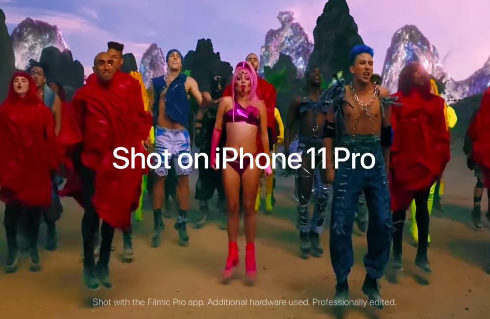 Stupid Love Video Lady Gaga Filmee avec iPhone 11 Pro La dernière vidéo de Lady Gaga, Stupid Love, est filmée à liPhone 11 Pro