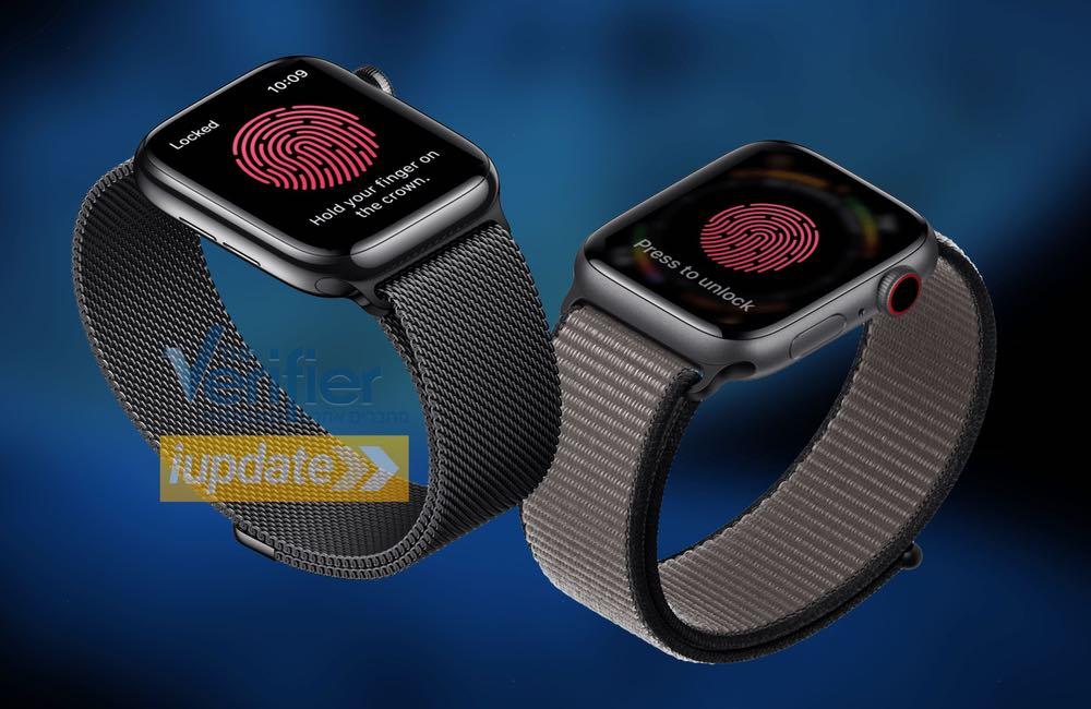 apple watch series7 touch id Rumeur : watchOS 7 et Touch ID pour l'Apple Watch ?