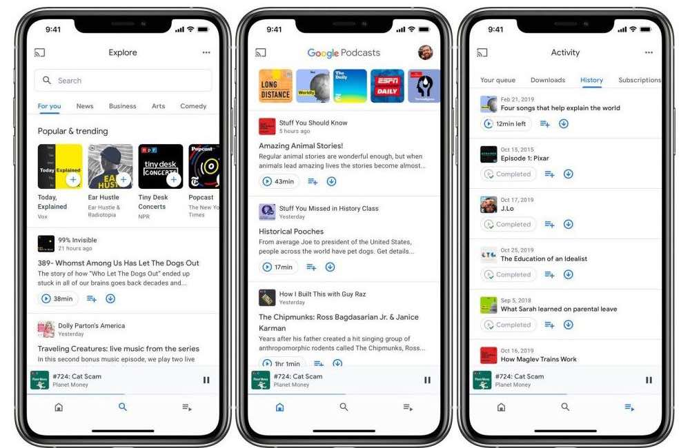 google podcasts ios Google Podcasts enfin disponible sur iOS