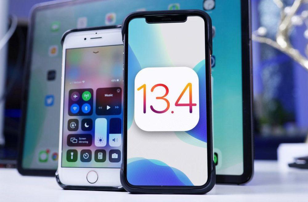 iOS 13.4 Finale Apple bloque les mises à jour et restauration vers iOS 13.4 après la sortie diOS 13.4.1 et diPadOS 13.4.1