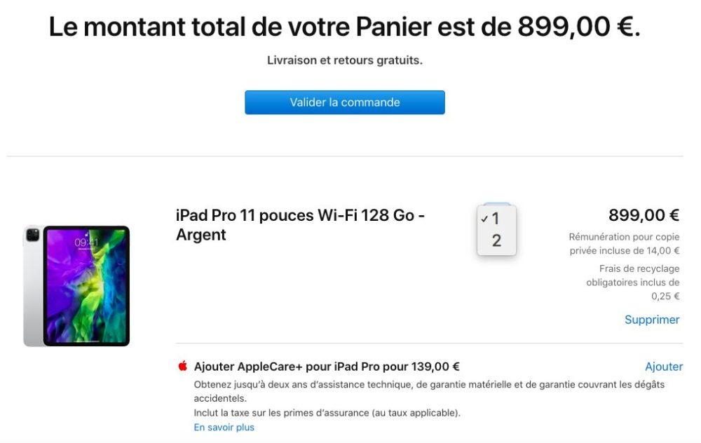 iPad Pro 2020 Achat Limite Apple fixe des limites dachat sur le nouvel iPad Pro, le nouveau MacBook Air et les iPhone