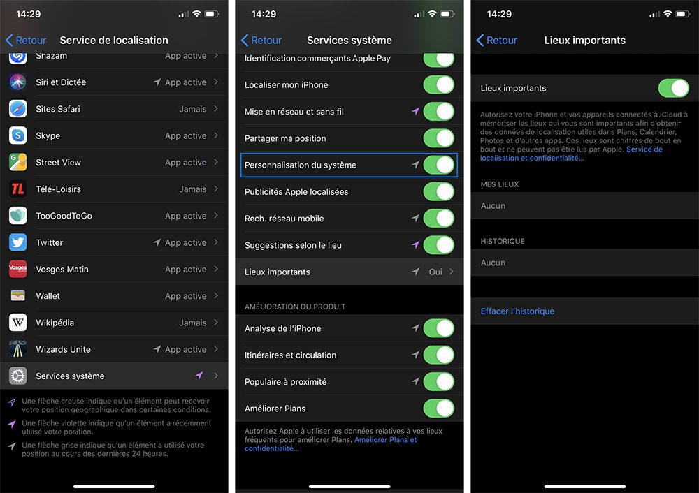 iphone lieux importants Comment limiter l'usure de votre batterie d'iPhone avec la recharge optimisée