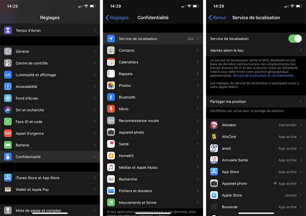 iphone service localisation Comment limiter l'usure de votre batterie d'iPhone avec la recharge optimisée