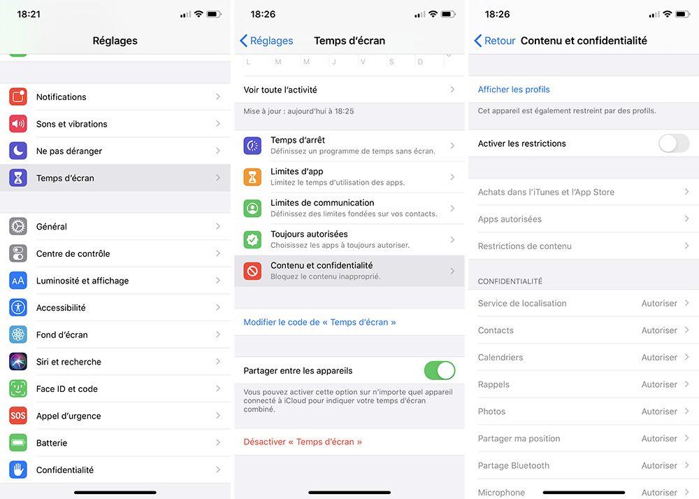 iphone temps ecran achats integres Comment bloquer les achats intégrés sur l'App Store