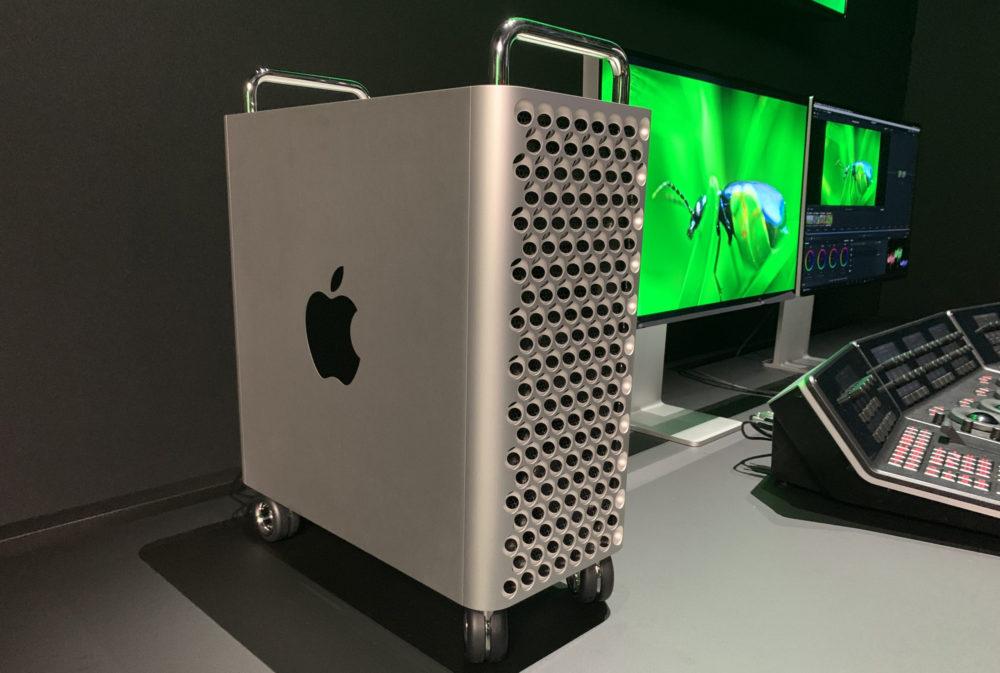 Apple Mac Pro 2020 Mac Pro 2019 : Apple vend maintenant des pieds et des roues (de 349 à 849 euros)