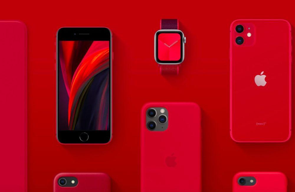 Apple Product RED PRODUCT(RED) : largent récolté par Apple est versé pour la lutte contre le coronavirus (COVID 19)