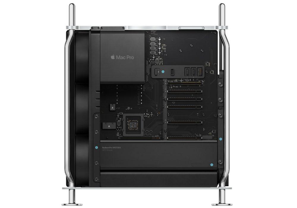 Mac Pro 2019 Module MPX avec Radeon Pro W5700X Mac Pro : la Radeon Pro W5700X est disponible à lachat