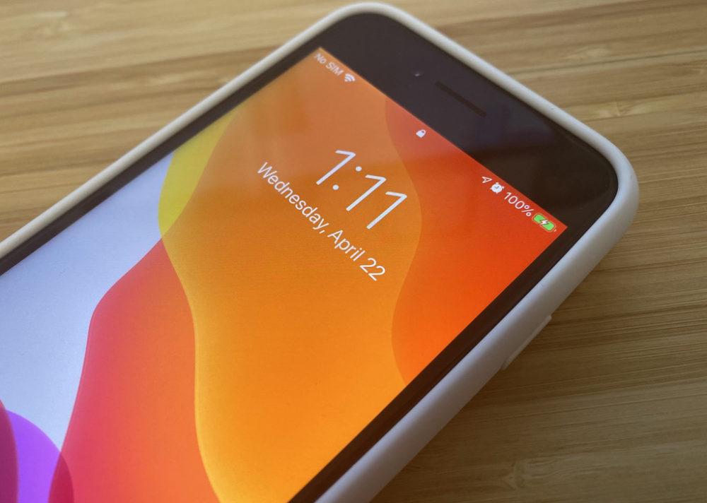 Smart Battery Case iPhone 7 sur iPhone SE 2020 La Smart Battery Case de liPhone 7 peut recharger liPhone SE 2020