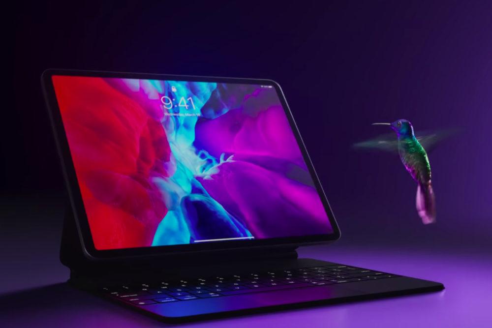 iPad Pro Magic Keyboard Pub Float iPad Pro 2020 et Magic Keyboard : une nouvelle pub titrée Float est publiée par Apple