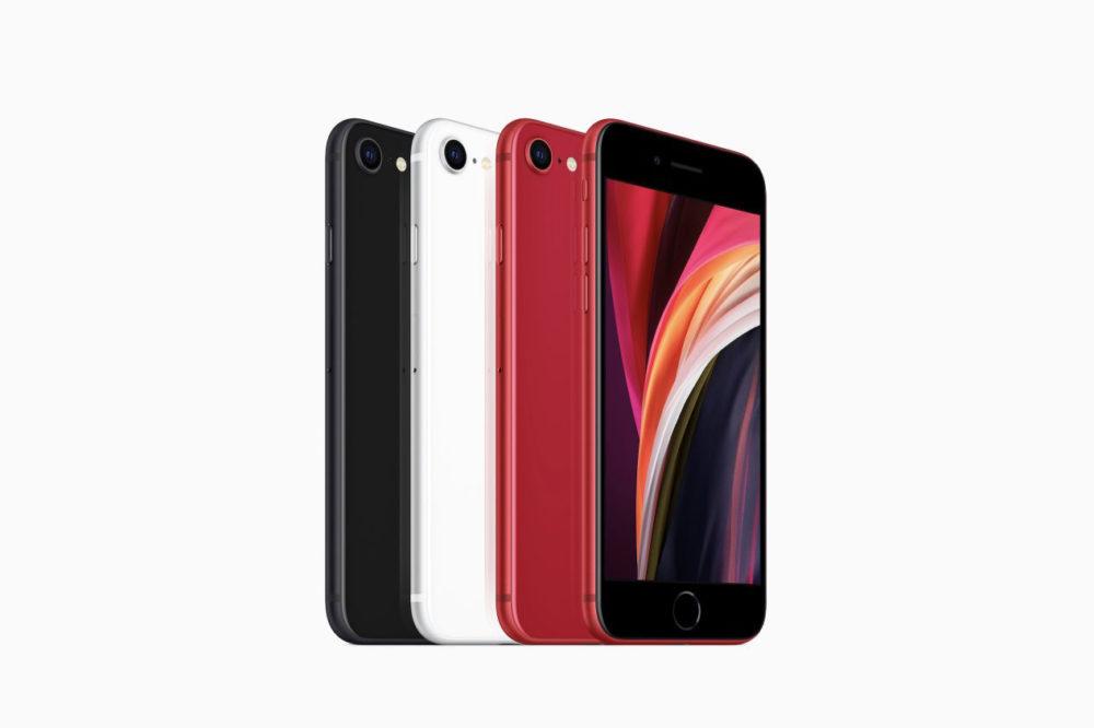 iPhone SE 2020 Apple LiPhone SE 2020 a 3 Go de RAM et une batterie de 1 821 mAh