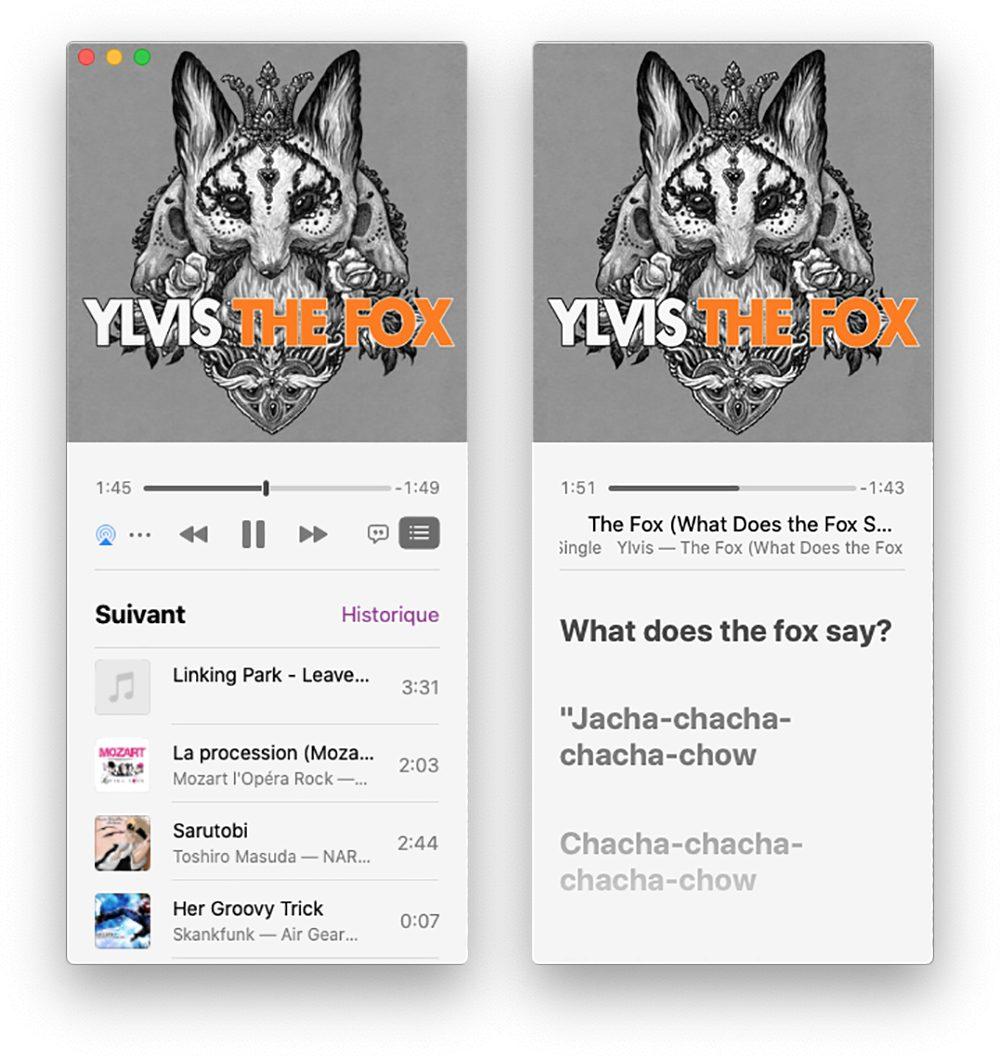 mac mini lecteur 2 Comment avoir un karaoké sur Mac et iPhone avec les paroles de Musique