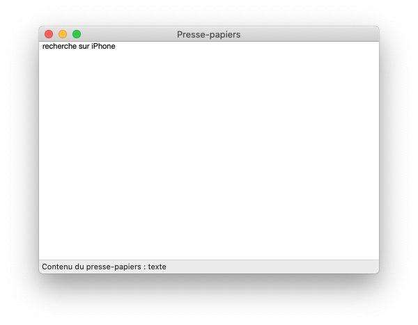 mac presse papier 2 Trouver lhistorique du presse papier sur Mac et iPhone