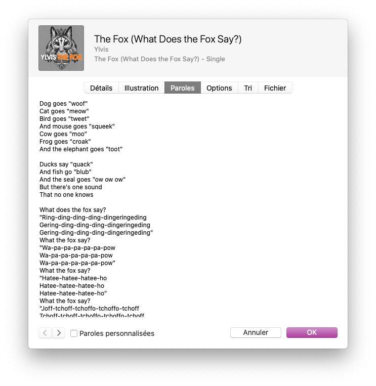 musique informations paroles Comment avoir un karaoké sur Mac et iPhone avec les paroles de Musique