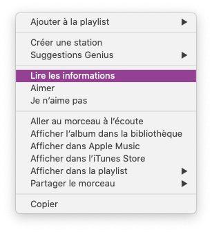 musique lire informations Comment avoir un karaoké sur Mac et iPhone avec les paroles de Musique