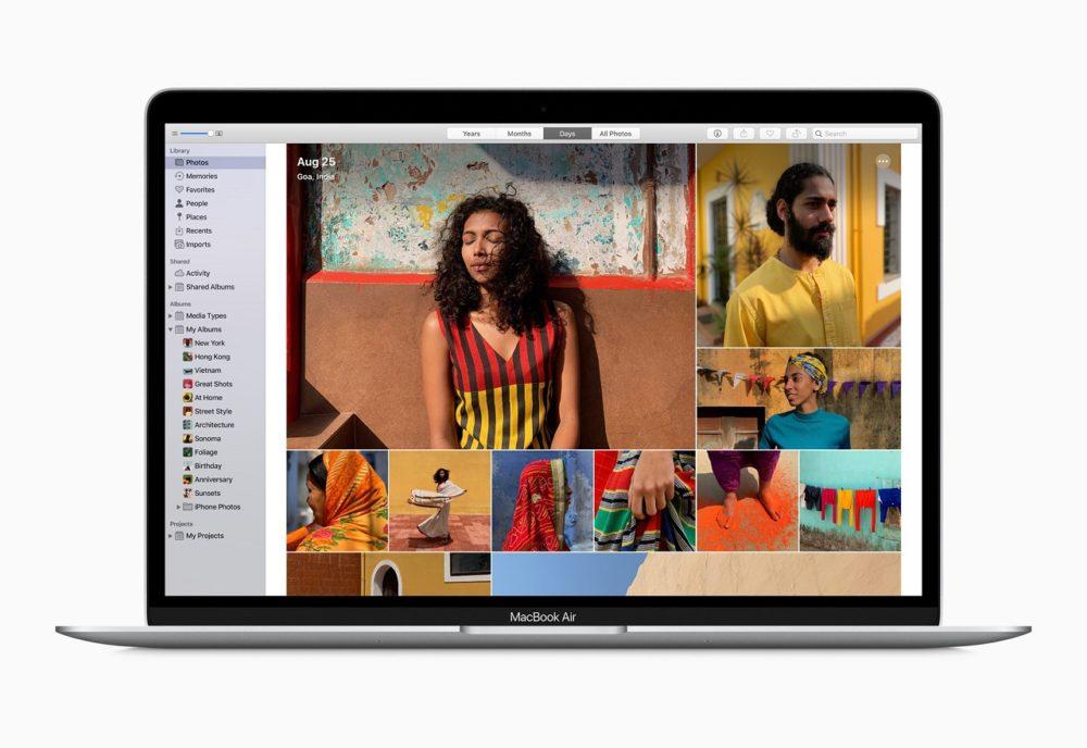 Apple MacBook Air 2020 Apple publie la version finale de macOS 10.15.5 pour les Mac